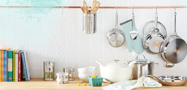 Outfit the Kitchen: Cookware to Cutlery