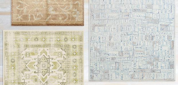 Art Underfoot: One-of-a-Kind Rugs