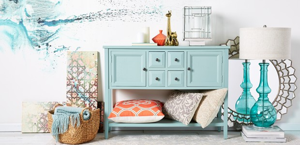 Chic Accents for the Wall, Desk, & Coffee Table