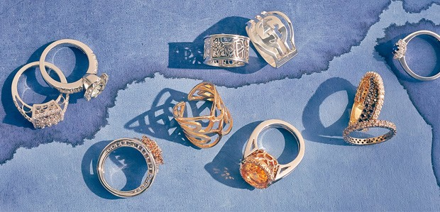 Statement Rings: Deck Your Hands in Luxury