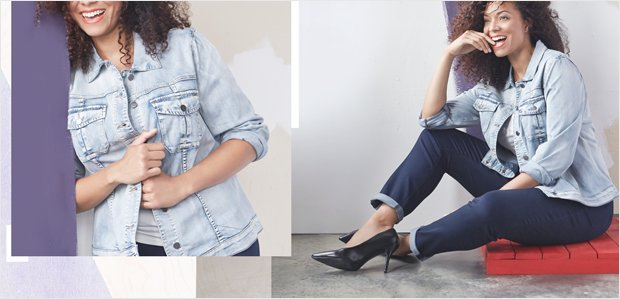 Laid-Back Looks in Plus Sizes: Featuring NYDJ