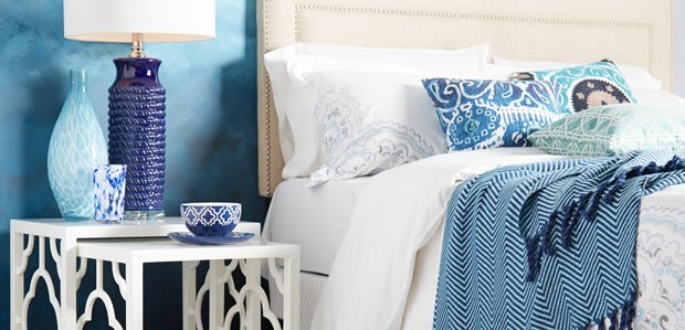 Color Crush: Shades of Blue at Home