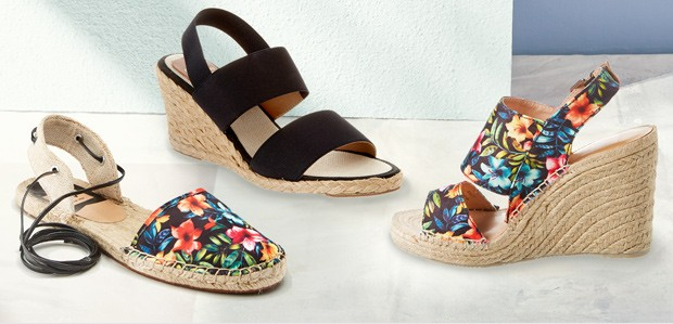 Shoes to Rock Now: Sandals to Espadrilles