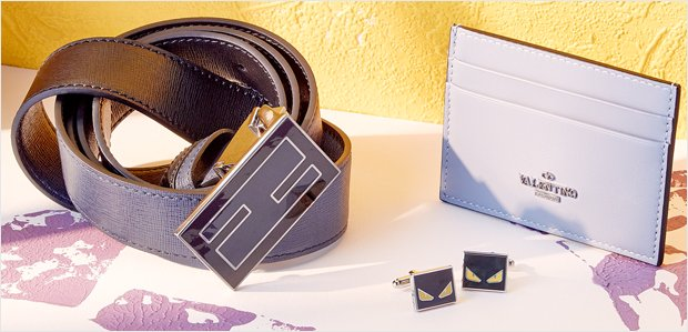 Power Pieces: Men's Accessories Featuring Valentino
