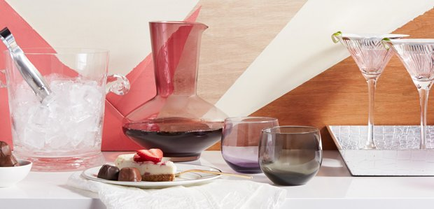 Girls' Night In: Glam Glassware, Mixers, & More