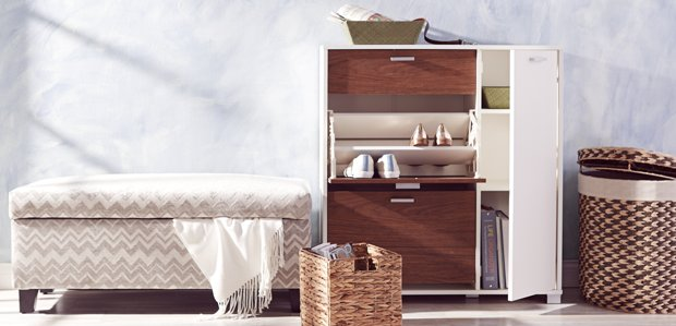 Savvy Storage: Double-Duty Furniture & Decor