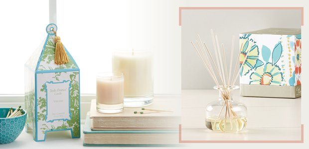 Add Ambiance: Candles & More Featuring Seda France