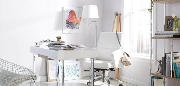 The Sleek Office: Inspired by Magazine Editors