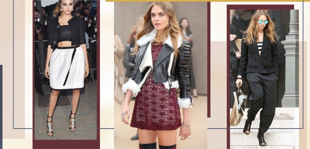 Style Rookie: Edgy Looks Inspired by Cara Delevingne