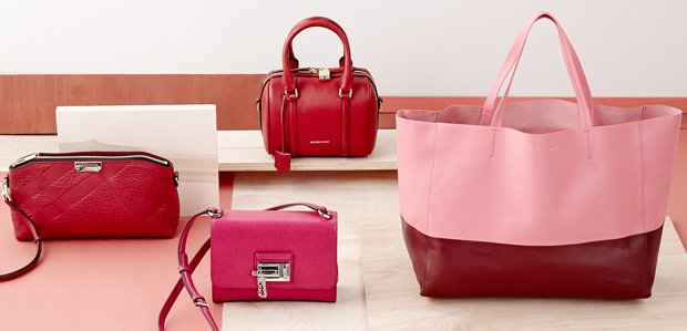 Burberry & More: Luxe Extras in Hot Hues