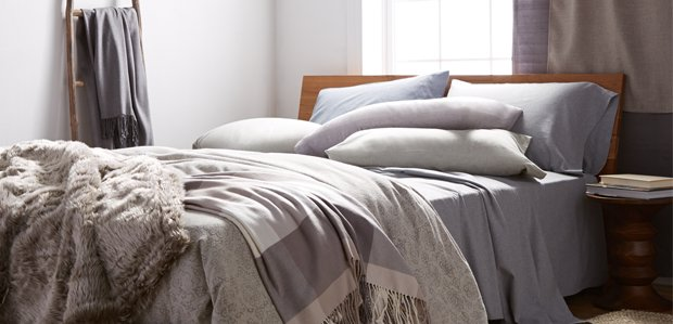 Warm Up the Bed: Flannel, Cashmere, & More