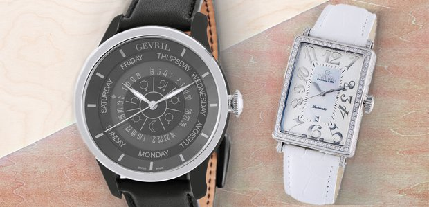 The World of Gevril Watches & Pens
