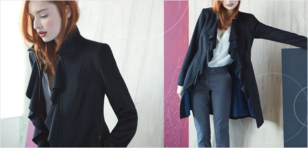 Tailored Coats: Top It Off with Polish