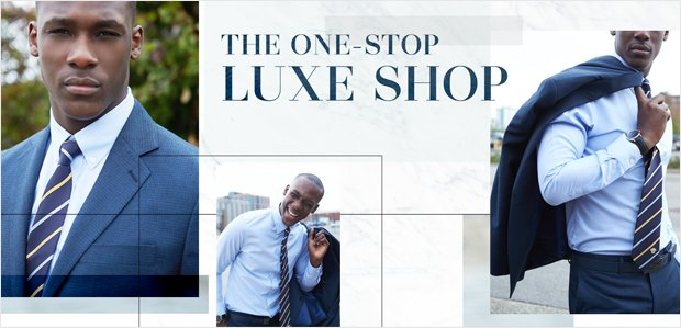 The One-Stop Luxe Shop: Versace & More for Men
