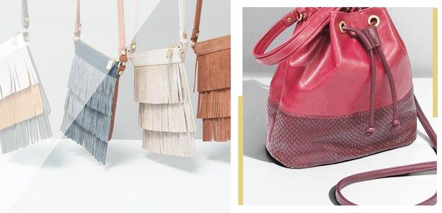 Laudi Vidni. Design your own leather bag.