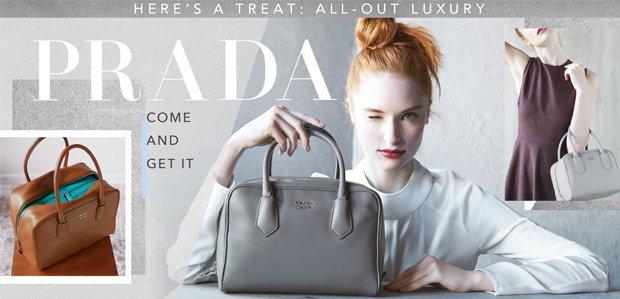 Prada Handbags, Shoes, & More