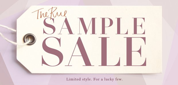 The Rue Sample Sale
