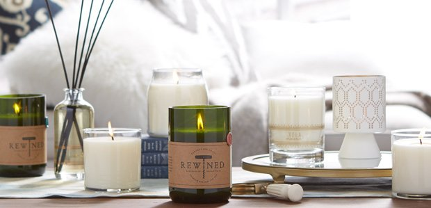 Time to Unwind: Candles & More Featuring Bluewick