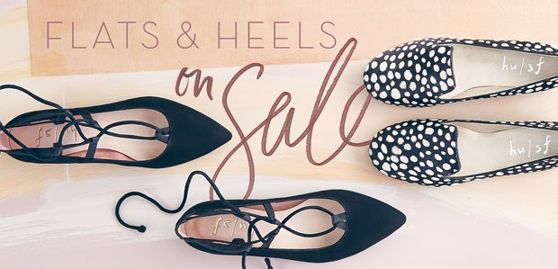Step Right Up --> Flats & Heels