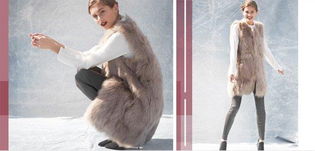 The Season's Coziest Pieces: Faux Fur & More