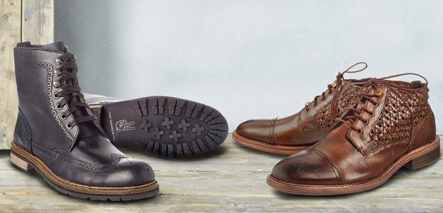 Men's Chukkas & Boots Featuring John Varvatos