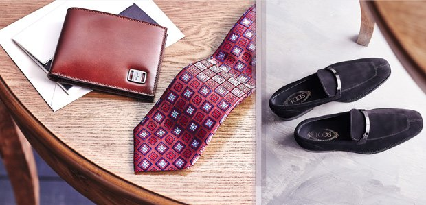 Power Pieces: Men's Accessories Featuring TOD's