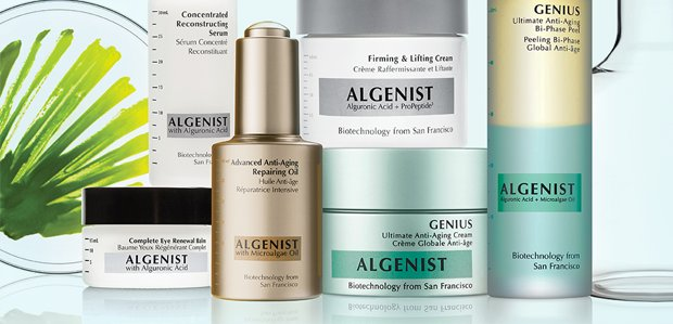 Algenist. Antiaging skincare with biotech roots.