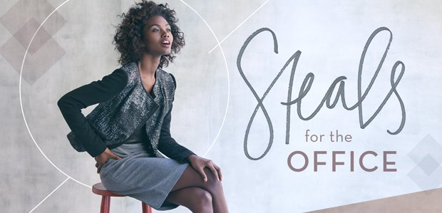 The Work-Hard Sale: Steals for the Office