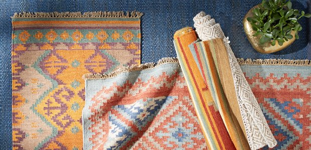 Trending on the Floor: Kilim Rugs & More