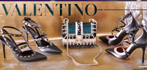 Valentino Handbags, Shoes, & More