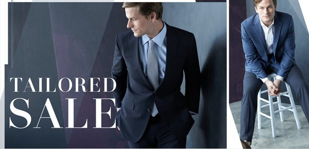 Men's Tailored Sale: Suits to Shirts