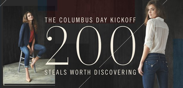 The Columbus Day Kickoff: 200 Steals Worth Discovering
