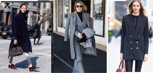 Borrowed from the Boys: Menswear-Inspired Style