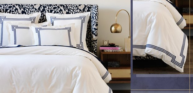For a Better Bed: Layer On Sheets, Duvets, & More