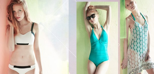 Modern vs. Timeless: Swimsuits to Cover-Ups