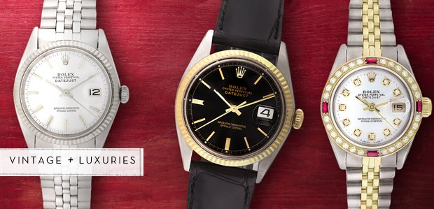 Vintage Watches Featuring Rolex