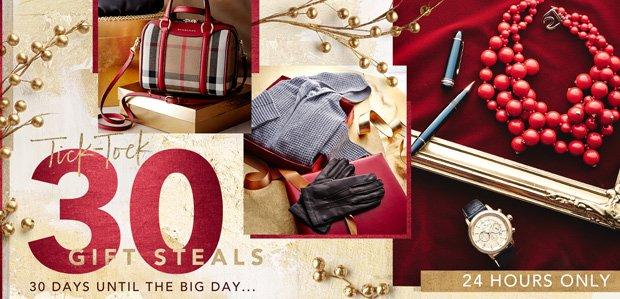 30 Gift Steals