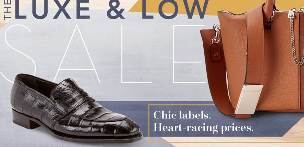 The Luxe & Low Sale