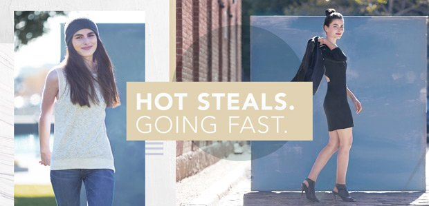 The Style Stampede. Hot steals. Going fast.