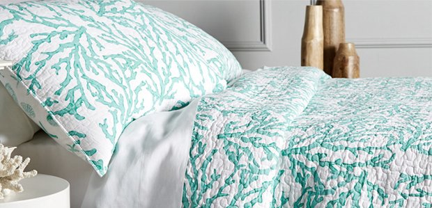 The Coastal Bedroom: Fresh, Clean, & Calm for 2016