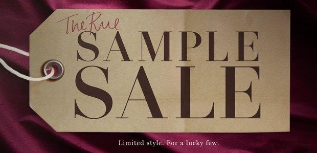 The Rue Sample Sale