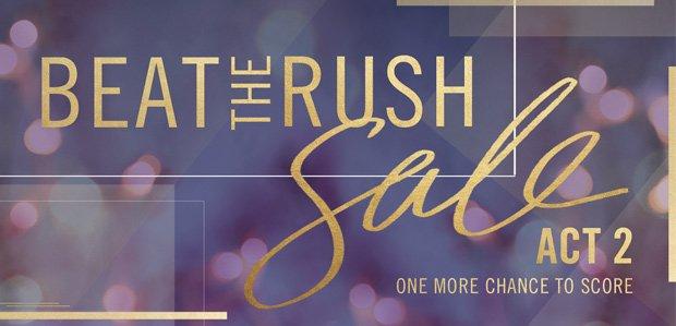 Beat the Rush Sale: Women's Edition