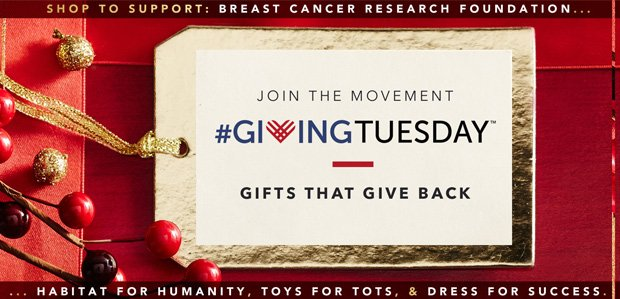 #GivingTuesday: Gifts That Give Back