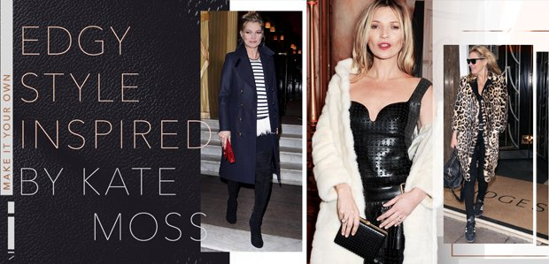 Make It Your Own: Edgy Style Inspired by Kate Moss