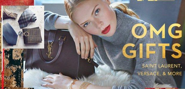 OMG Gifts: Saint Laurent, Versace, & More
