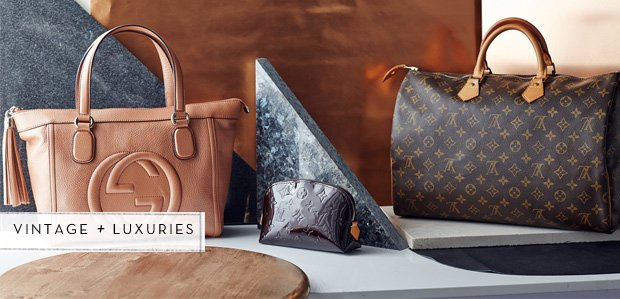 The Vault: Vintage Extras Featuring Louis Vuitton