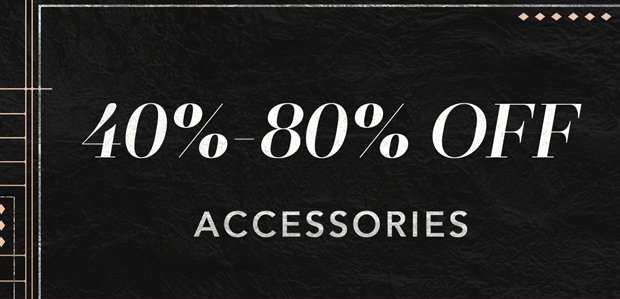 The Cyber Monday Sale: Accessories