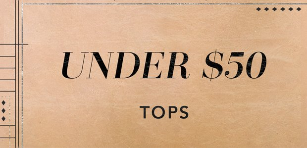 The Cyber Monday Sale: Tops