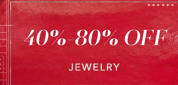 The Cyber Monday Sale: Jewelry