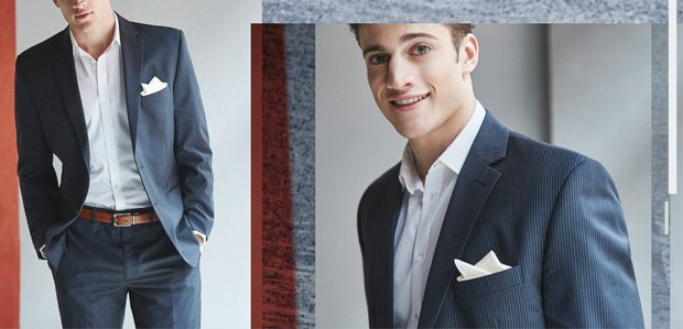 Dark Suits & Open Collars: The New Night Out